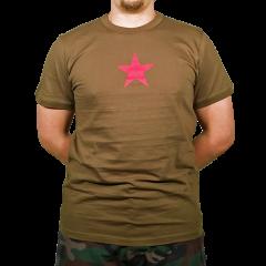 T-paita, punatähti