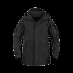Hardshell takki fleece kerroksella, musta