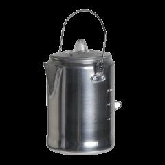 Alumiininen kahvipannu perkolaattorilla